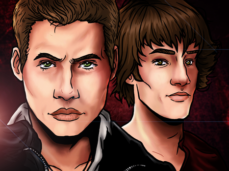 Sam And Dean by Chrisily