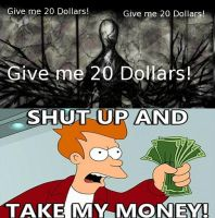 20 Dollars! by davidprogamer64