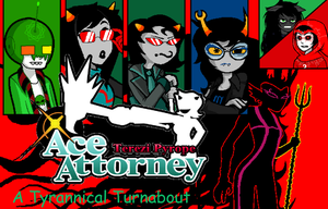Terezi Pyrope Ace Attorney- A Tyrannical Turnabout by Nfreak974