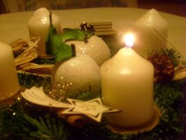 adevent candles by ingeline-art
