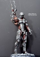 Mass Effect 2 - The Collector custom action figure by SomethingGerman