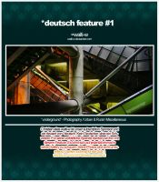 deutsch feature 1 - walti-w by deutsch
