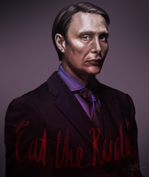 Eat The Rude. by sterekism