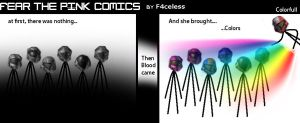 FtP comic 2 colorfull by F4celessArt
