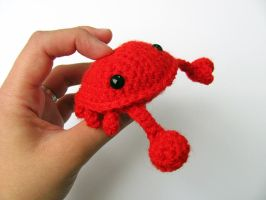 Amigurumi Crab 4 by MevvSan