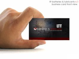 Corporate Business Card by mct2art