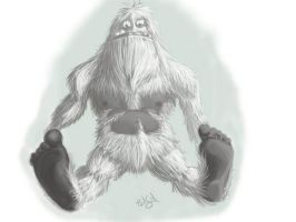 Abominable bigfoot? by bradsmith20