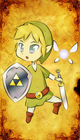 Link the Chibi by blindleap