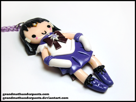 Sailor Saturn Necklace by GrandmaThunderpants