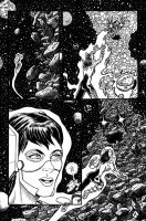 Anarchia, page 3, inks by VikThor