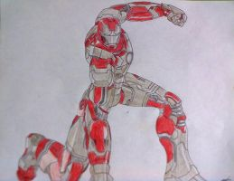 Armor Gold Iron man by GUILLERMOTFMASTER