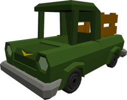 Pick-up Truck by MisterCookie