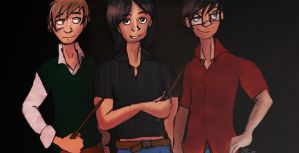 HP: We're the Marauders by stuffsophdoes