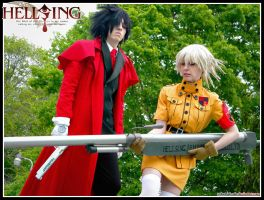 Hellsing: Clumsy Draculina by Redustrial-Ruin
