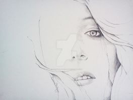 Fahion Illustration Drawing 13 by DouceArtifice