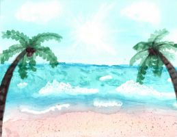 Beach by musicality84