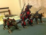 My zoids team. by Webdisaster01