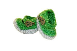 Slytherin Booties by TheSleepyRabbit