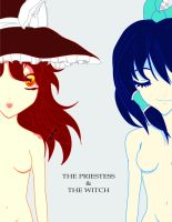 The Priestess And The Witch by C9999