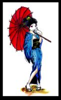 Geisha by orchidpearls