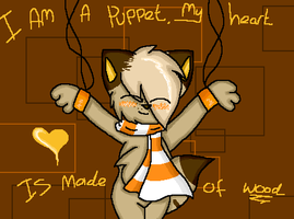 I am a puppet.. by l3utts