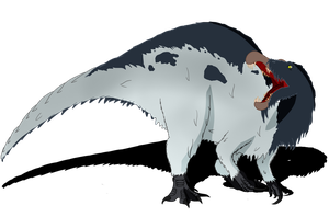 My Little Archosaurs: Spinosaurus by FlailingFishy