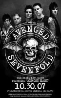 Avenged Sevenfold Flyer by graphicjunkie