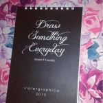 Draw something everyday by violetgraphica