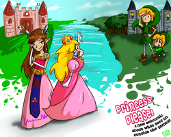 Princess, Please Demo Page by brittninja