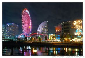 Yokohama by night by micpta