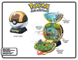 Pokemon Forest Toy Playset by toymaker-cl