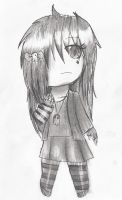 Emo Chibi by ChicaSuperKiller