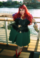 Steampunk Ariel by AliceingJabberwocky