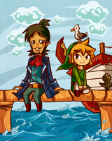 A Hero and his Captain by tellie-tale