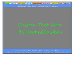 Large Text Area Editor  Final Version by KeybrdCowboy