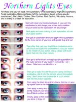 Northern Lights Eyes by my-cinderella-makeup