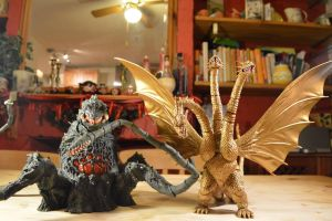 S.H Monsterarts - Biollante (9/10) Tall and Wide by GIGAN05