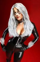 Black Cat: A Touch of Scarlet by psychegirl