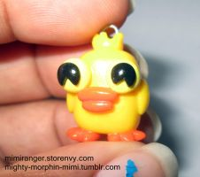 Ducky Momo Charm by Mighty-Morphin-Mimi