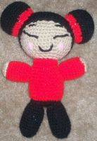 Pucca - Amigurumi by Lady-Nocturna