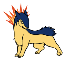 Fire Type Collab - Typhlosion by BlazeDGO