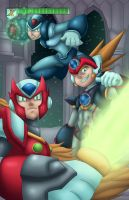 Megaman x8 by Kyle-Fast