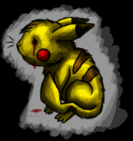 Creep Pasta - Crying Pika by Dremorax