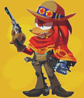 Knux Mccree by Bubbi-Robot