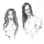 Jeff And Jane Doodle by SUCHanARTIST13
