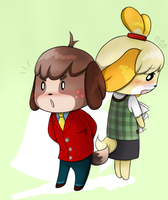 isabelle and digby by cyclopsette