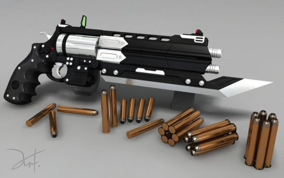 Revolver Brotherguard Highpoly by The-5