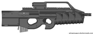 P900 assault rifle by bobafettdk