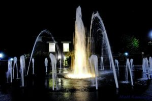 The Cal Fountain by MJKam11