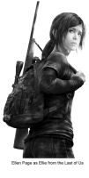Ellen Page As Ellie From The Last Of Us by TheOldMan11342501